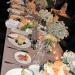 dining at private event